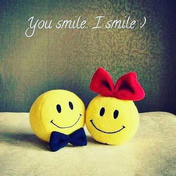 ☀️ શુભ બપોર - you smile . I smile ) - ShareChat