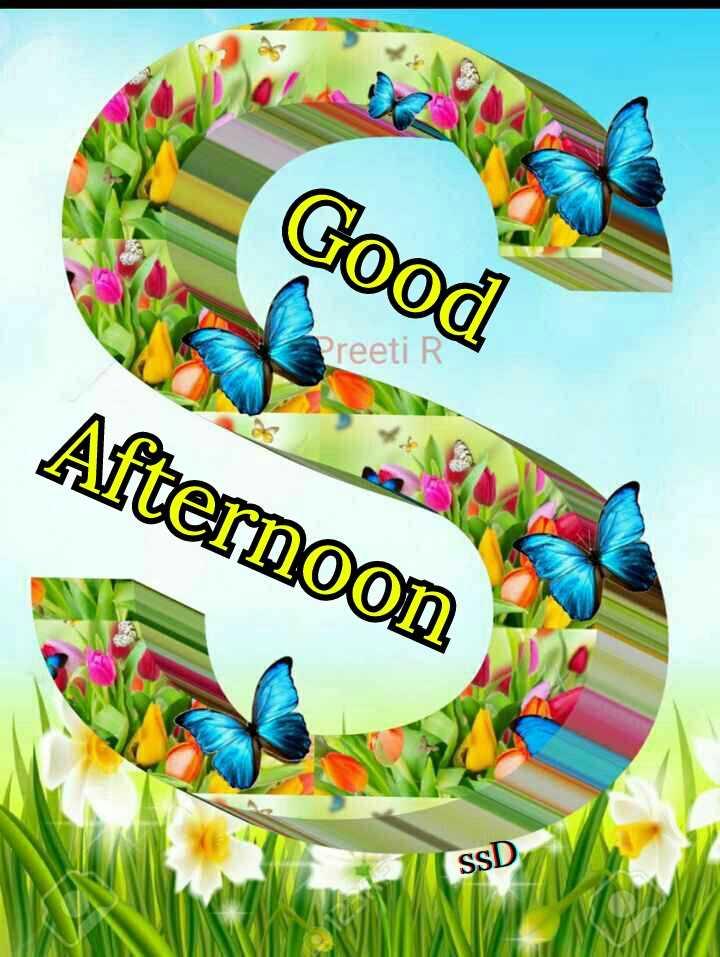 ☀️ શુભ બપોર - Good Preeti R Afternoon SSD - ShareChat