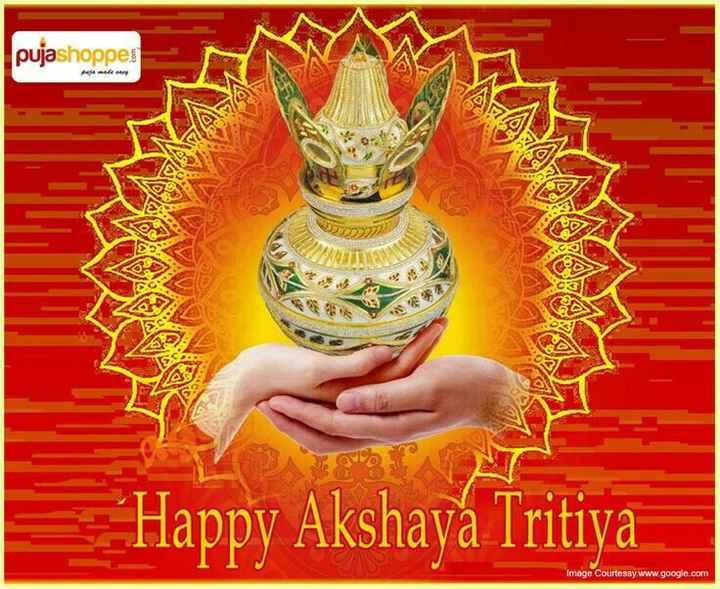 ☀️ அட்சய திருதி - pujashoppes ca 202 * * * Happy Akshaya Tritiya Image Courtessy . www . google . com - ShareChat