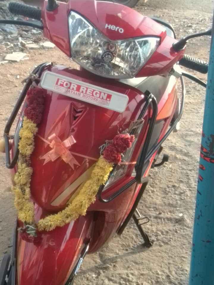 ☕️மாலை வணக்கம் - Hero FOR REGN . JAYAAM MOTORS - ShareChat