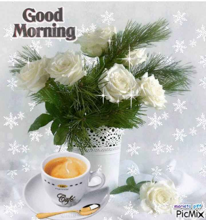 ☕️மாலை வணக்கம் - Good Morning marieta gift PicMix - ShareChat