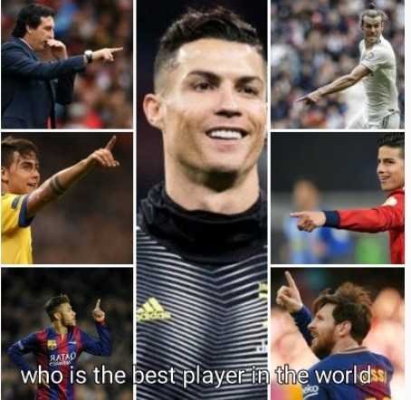 ⚽️ ரொனால்டோ - who is the best player in the worlds - ShareChat