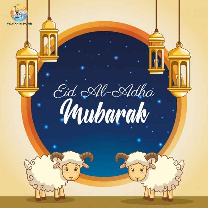 🇹🎞️టాలీవుడ్ - VYJAYANTHI MOVIES Eid Al - Adha Mubarak - ShareChat