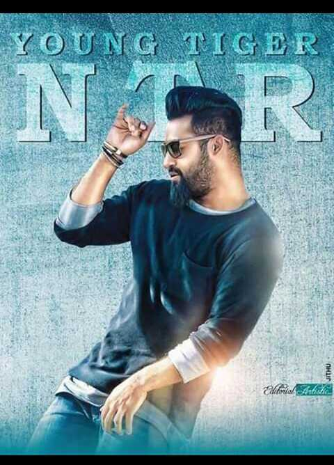 🇹🎞️టాలీవుడ్ - YOUNG TIGER Eforial Article - ShareChat
