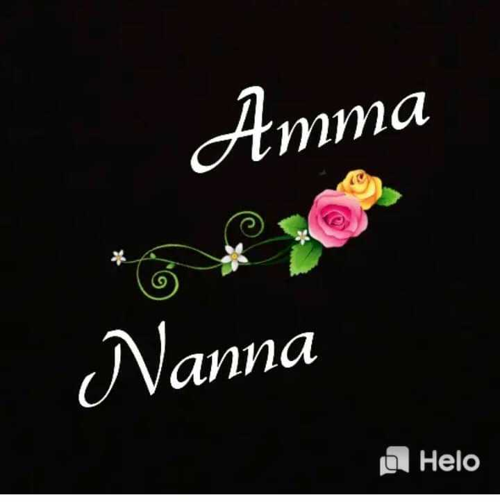🅿️నా పేరులోని మొదటి అక్షరం - Amma Nanna - ShareChat