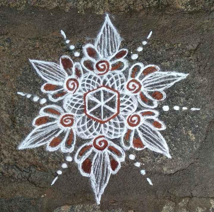 🕸️ನಮ್ಮನೆ ರಂಗೋಲಿ - ShareChat