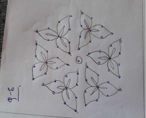 🕸️ ರಂಗೋಲಿ - 9 - 5 - ShareChat