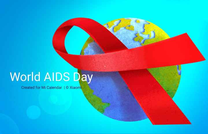 🎗️ವಿಶ್ವ ಏಡ್ಸ್ ದಿನ - World AIDS Day Created for Mi Calendar | © Xiaomi - ShareChat