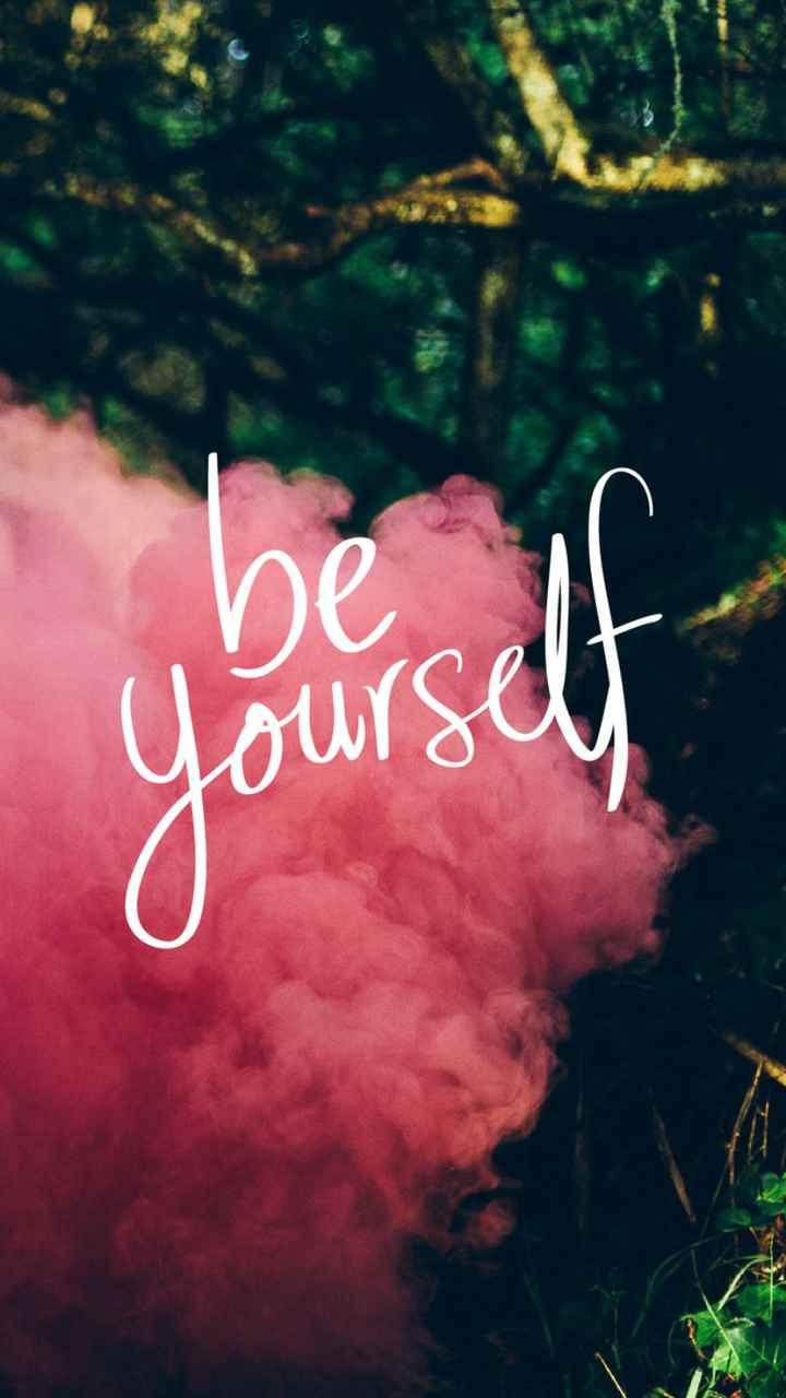 🏞️ ഇമേജ് സ്റ്റാറ്റസ് - be Yourself - ShareChat