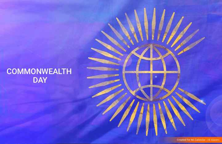 🏋️‍♂️ कॉमनवेल्थ डे - COMMONWEALTH DAY Created for Mi Calendar | © Xiaomi - ShareChat