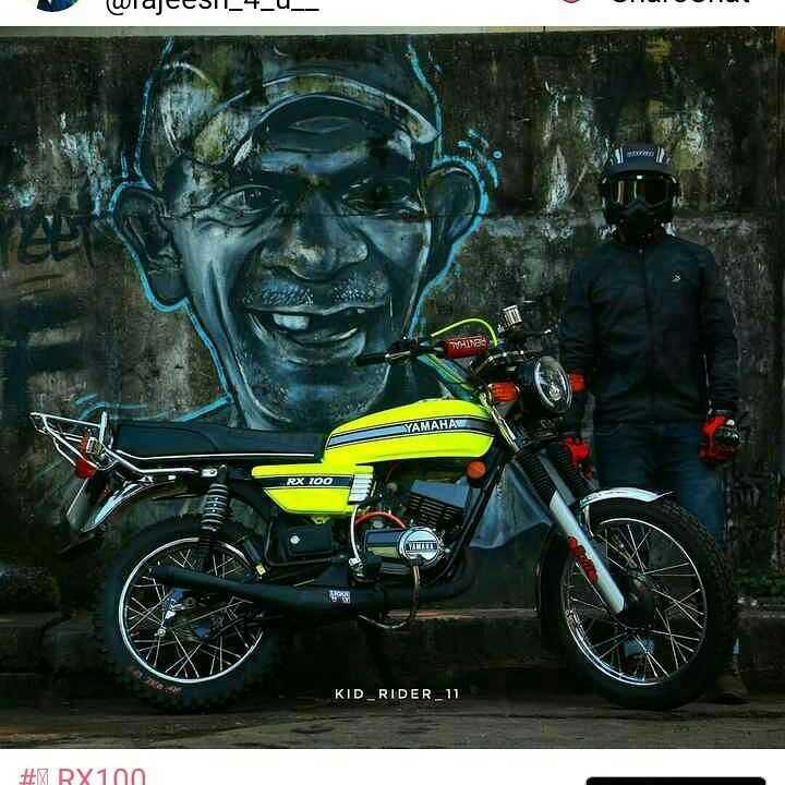 🏍️ RX100 - WlaCESIU4 _ _ SYAMAHAL RX 700 KID _ RIDER _ 11 # TRX100 - ShareChat
