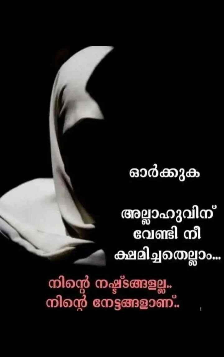 al-quran - ഓർക്കുക അല്ലാഹുവിന് - വേണ്ടി നീ ക്ഷമിച്ചതെല്ലാം . . . നിന്റെ നഷ്ടങ്ങളല്ല . നിന്റെ നേട്ടങ്ങളാണ് . . ് - ShareChat