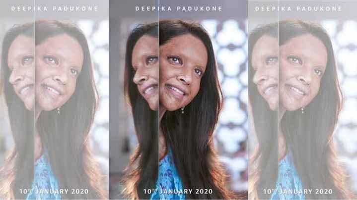 🎞 'छपाक' का पहला लुक जारी - DEEPIKA PADUKONE DEEPIKA PADUKONE DEEPIKA PADUKONE 10TH JANUARY 2020 107 JANUARY 2020 10 JANUARY 2020 - ShareChat