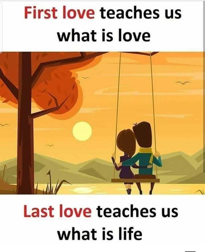 'దివ్య' కాంతులు - First love teaches us what is love Last love teaches us what is life - ShareChat
