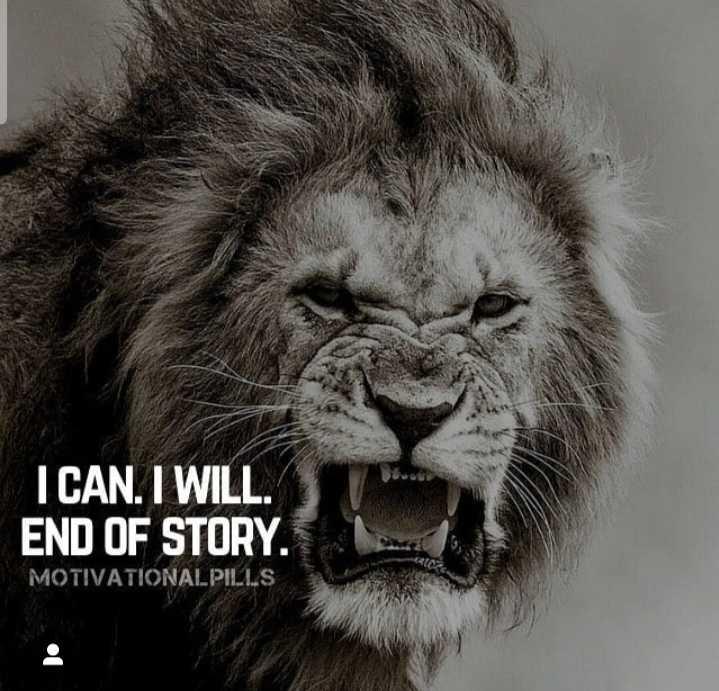 'దివ్య' కాంతులు - I CAN . I WILL . END OF STORY . MOTIVATIONALPILLS - ShareChat