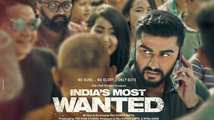 🎥'India's Most Wanted' ट्रेलर रिलीज़ - NO GUNS . . . NO GLORY . . . ONLY GUTS Marching and FOX STAR STUDIOS Presents INDIAS MOST WANTED Written & Directed by RAJ KUMAR GUPTA Produced by FOX STAR STUDIOS Produced by RAJ KUMAR GUPTA & MYRA KARN - ShareChat