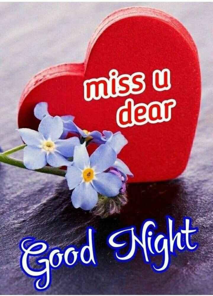 🌛, good night🌜 - miss u dear Good Night - ShareChat