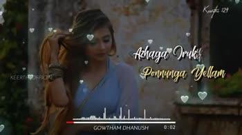 love love love🍁🍁🍁 - Keen the 129 KEERTHI OFFICIAL Kalandhu GOWTHAM DHANUSH 0 : 12 Keen the 129 ❤ Nee Dhan En Bhoomi Unna Julhi Darurenae KEERTHI OFFICIAL tuullull . . . lud . . . . . . . . . . . . lalu . GOWTHAM DHANUSH 0 : 29 - ShareChat