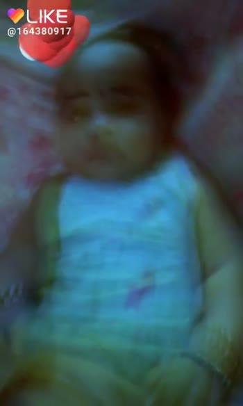 cute baby - OLIKE . . @ 164380917 LIKE APP Magic Video Maker & Community - ShareChat
