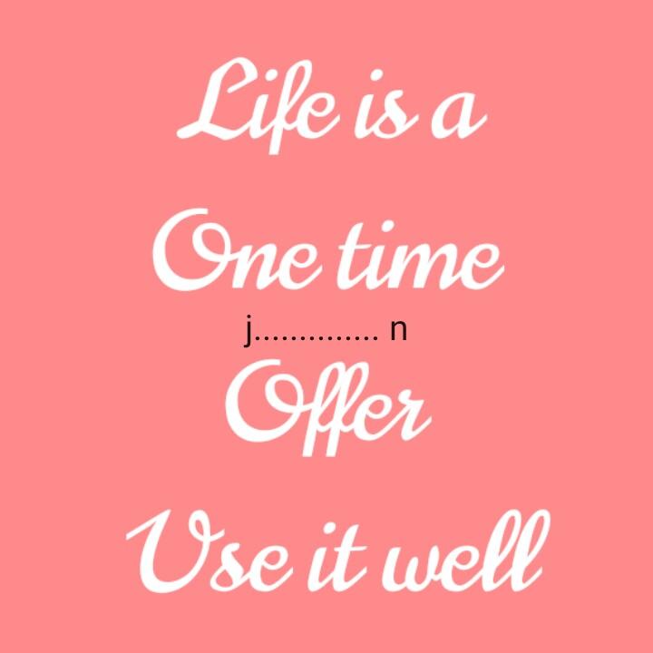🔱 હર હર મહાદેવ - Life is a One time j . . . . . . . . . . . . . . n offer Use it well - ShareChat