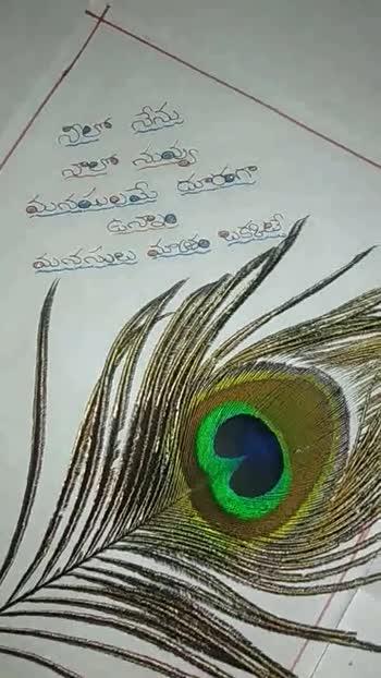 ❤️ లవ్ - వాలో నువ్వు మయమలమై దూరగా మనసులు మాత్ర నిలా శ్రీను వాలో నువ్వు మదయిలమే దూరంగా మనసులు మg - ShareChat