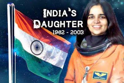 🙏 કલ્પના ચાવલા પુણ્યતિથિ - INDIA ' S DAUGHTER 1962 - 2003 - ShareChat