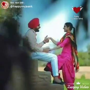 🎶 ਰੋਮੈਂਟਿਕ ਗਾਣੇ - happy Shan Chat ShareChat my love is my lifeH . . K happymyjaank tu mare jindge a tenu mere kolo koi khu ni sakda Follow OO - ShareChat