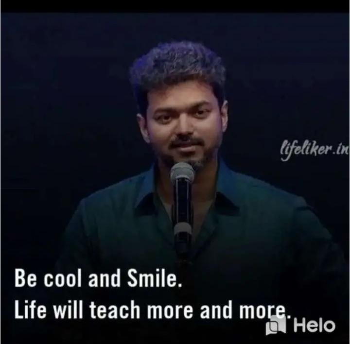 👋విషెస్ స్టేటస్ - lifeliker . in Be cool and Smile . Life will teach more and more . O - ShareChat