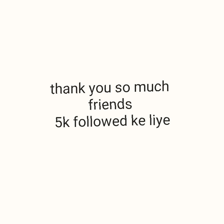 #thank u - thank you so much friends 5k followed ke liye - ShareChat