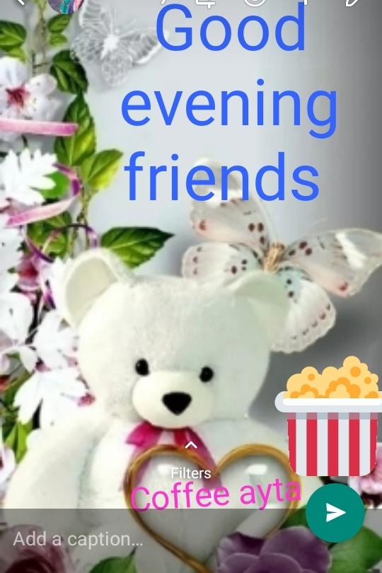 ಸಂಜೆ ಸುದ್ದಿ - Good evening friends Filters Coffee ayt ) Add a caption - ShareChat
