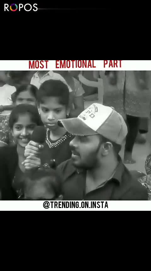 Emotional Videos - ROPOSO MOST EMOTIONAL PART @ TRENDING . ON . INSTA MOST EMOTIONAL PART @ TRENDING . ON . INSTA ROPOSO - ShareChat