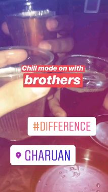 Difference - ਅੰਮ੍ਰਿਤ ਮਾਨ - Chill mode on with brothers # DIFFÉRENCE o GHARUAN - ShareChat