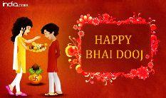 भाई दूज - india . com HAPPY BHAI DOOJ - ShareChat