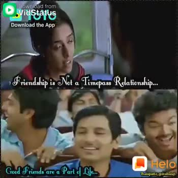 we கெத்து - Download from Friendship is Not a Timepass Relationship . . . Yo Good Friends are a part of Life . . . Download the App Thalapathi gokulbalaji Download from Friendship is Not a Timepass Relationship . . . Good Friends are a Part flere Download the App Mlapathilgakulbahn - ShareChat