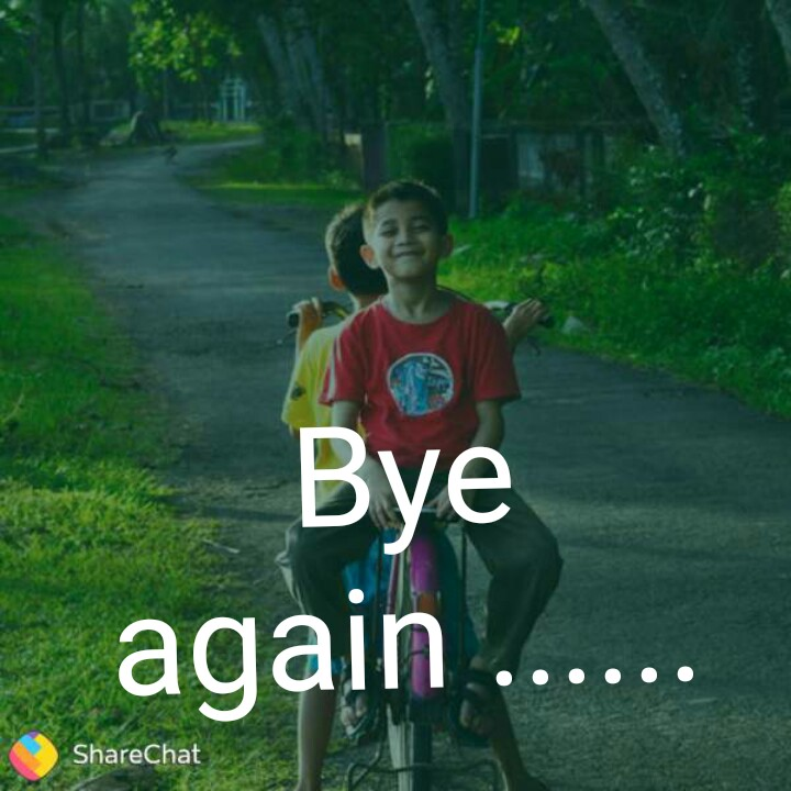 😍 awww... 🥰😘❤️ - Bye again . . . . . . ShareChat - ShareChat