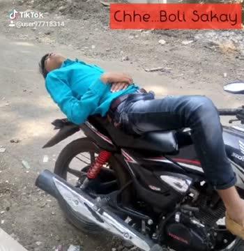 livenibivnia - : @ user97718314 Ghanu Ghanu Chhe Tik Tok Shu Evu reuser97718319 - ShareChat