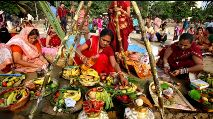 छठ पूजा गीत - छठ पूजा शुभकामनां सन्देश - ShareChat
