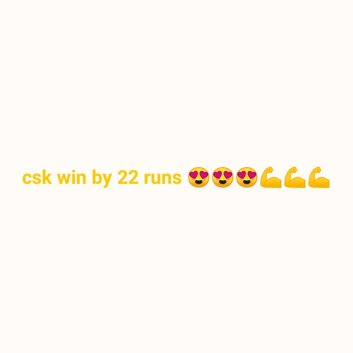 🏏CSK vs KXIP - csk win by 22 runs SOS S - ShareChat