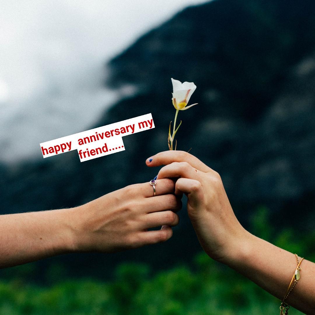 🙏శుభాకాంక్షలు - happy anniversary my ! friend . . . . . - ShareChat