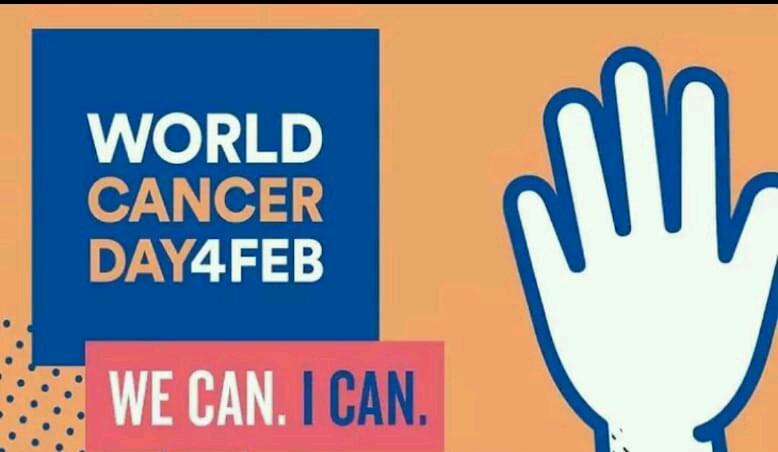 உலக புற்றுநோய் தினம் - WORLD CANCER DAY4FEB mm WE CAN . I CAN - ShareChat