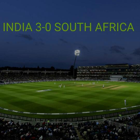 🏏ਭਾਰਤ ਦਾ 3-0 ਨਾਲ ਕਬਜਾ 💪 - INDIA 3 - 0 SOUTH AFRICA VRUPAL - ShareChat
