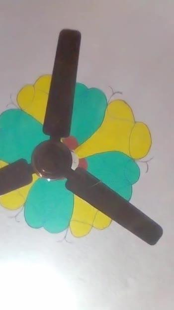 पंखे का वीडियो चैलेंज😛 - ShareChat