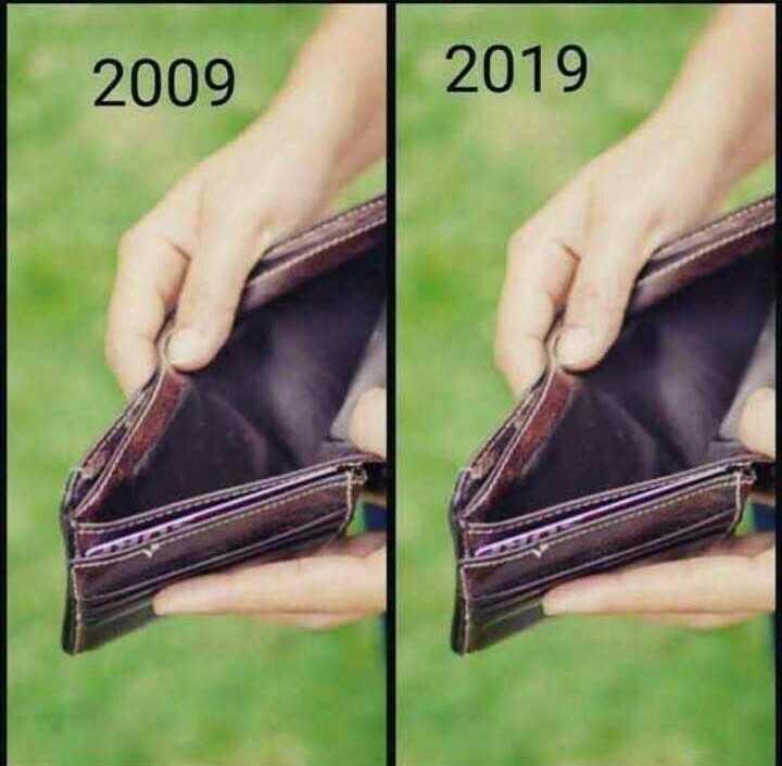 👍 10 years challenge - 2009 2019 - ShareChat