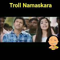 Rakshith-Rashmika Breakup - Troll Namaskara - ShareChat