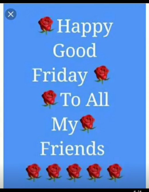➕गुड फ्राइडे - Happy Good Friday To All My Friends - ShareChat