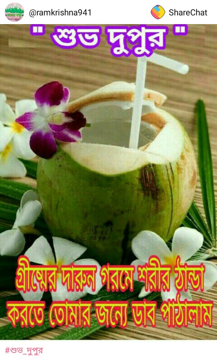 শুভ_দুপুর - ShareChat