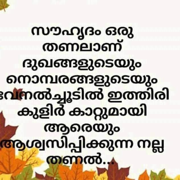 സുഹൃദ്ബന്ധം - ShareChat