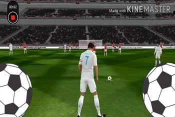 ⚽️ ரொனால்டோ - 00 : 08 Made with KINEMASTER Ruchgames youtube . com / fittouchgasnes Made with KINEMASTER - ShareChat