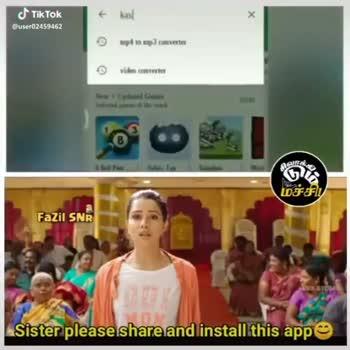தேசிய பெண் குழந்தைகள் தினம் - KAVALAN Jelts GO மச்சி ! Fazil SNR Sister please share and install this as TIKTOR மச்சி ! Fazil SNR Sister please share and install this and Tik Tok - ShareChat