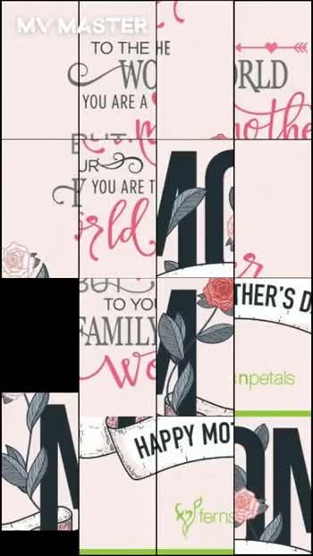 👪 માતા - પિતા - MVMASTER TO THE HE • Wd RLD YOU ARE A ho he YOU ARET BUT TO YOU THER ' S FAMILY WI npetals HAPPY MO fastern TO THE A WORLD YOU ARE A A BUT mother TO YOURSE C FAMILY YOU ARE THE World MAM HAPPY MOTHER ' S DAY Syfternampetas ASTER - ShareChat